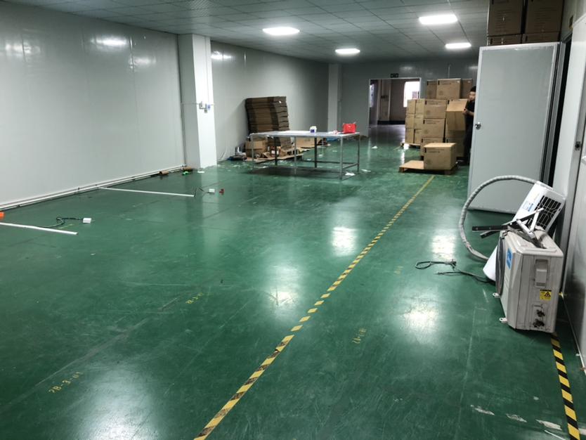 陈江原房东急租420平厂房无尘车间还带独立办公室有地坪漆