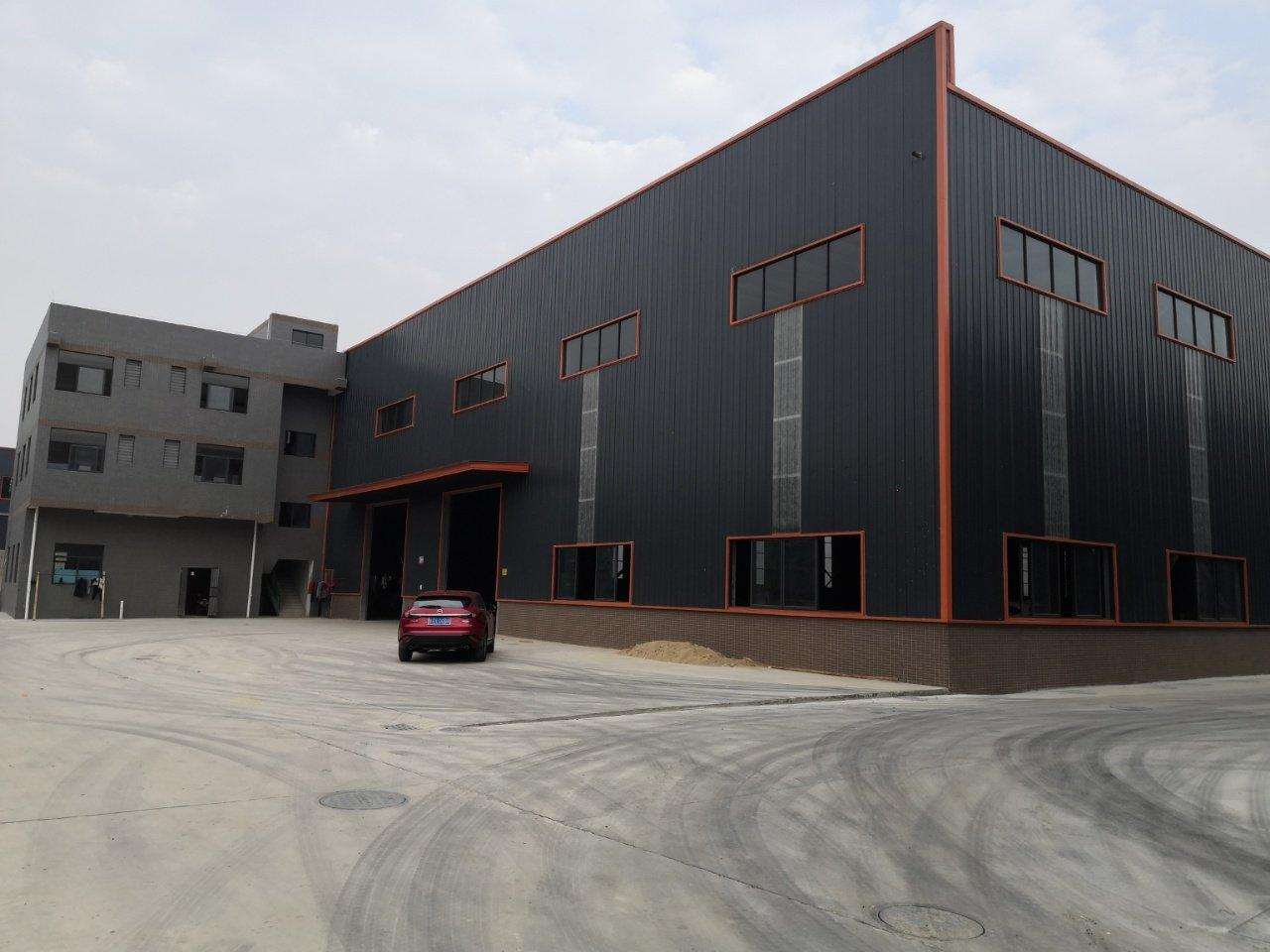 佛山三水乐平全新高标准单一层钢构仓库16300平,滴水10米
