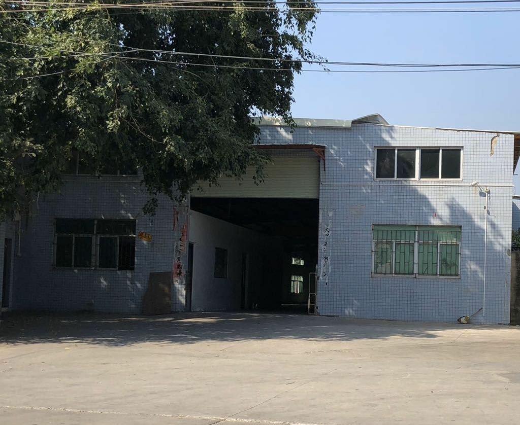 常平镇交通便利马路边独栋租金便宜带现成办公室单一层厂房出租