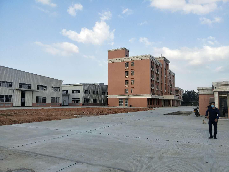 3万平空地,厂房14000平两栋,独立为公宿舍3600平,