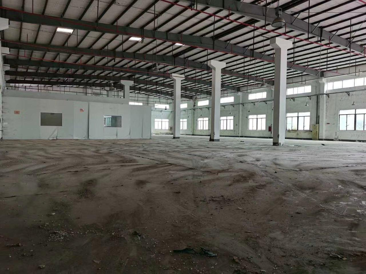 惠阳秋长原房东钢构7200平实际面积出租可办环评带现成装修