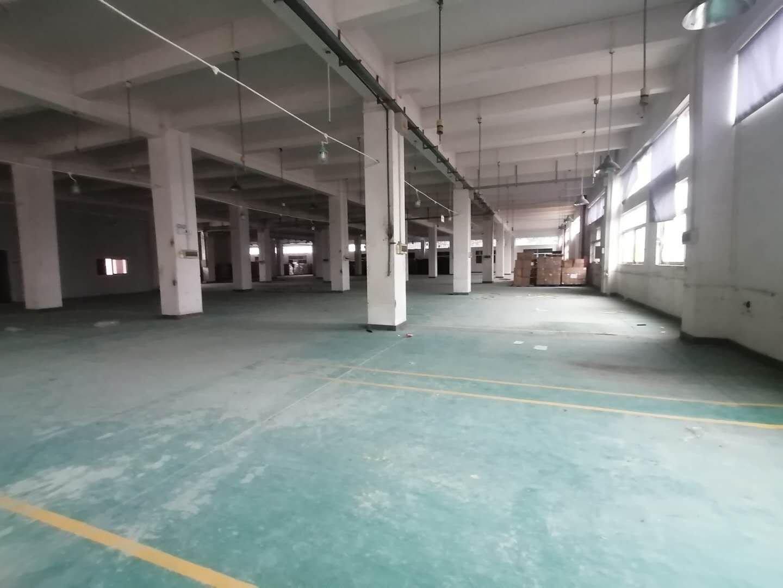 中山小榄厂房现租1~3楼12900平米,每层4300平米,