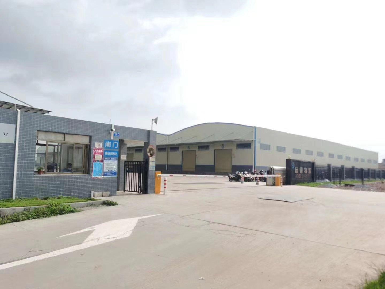 南沙全新单一层6000平方带卸货平台物流仓库出租可分租