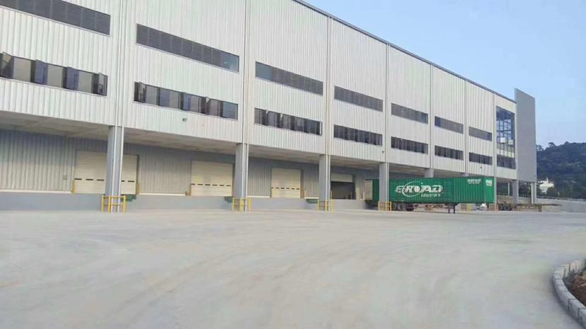 东莞标准物流仓84000平,两栋两层具体实量,电梯10部5吨