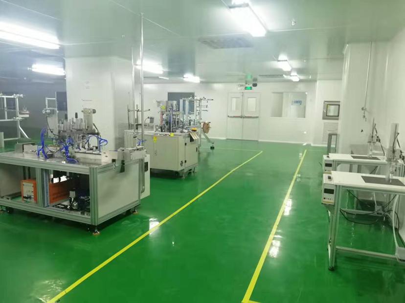 容桂工业园新出十万级无层车间适合医药行业全新口罩设备医疗器械
