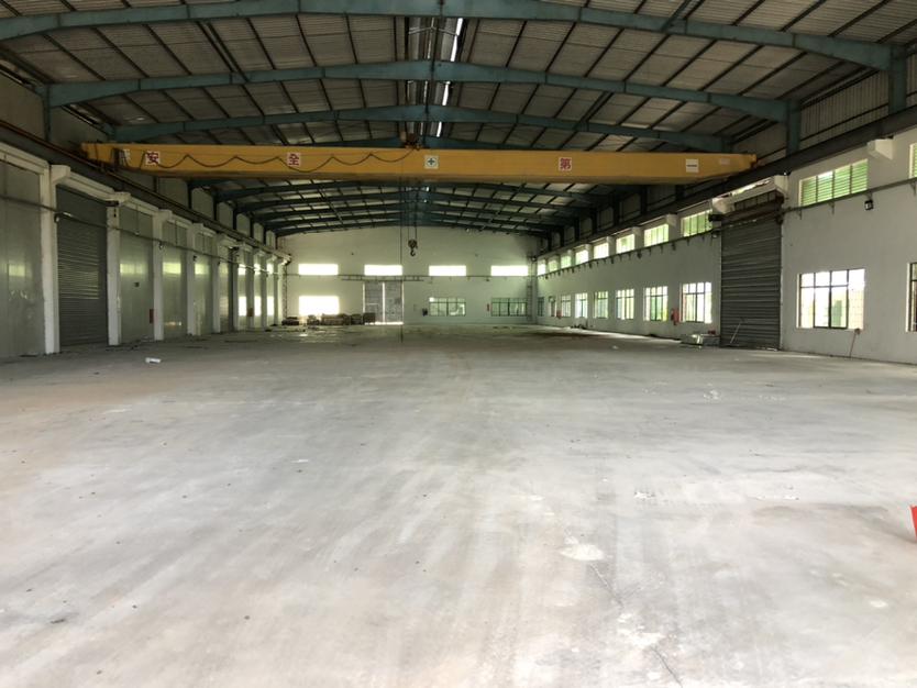 坪山新出仓库3000平方10米高单一层钢构厂房出租