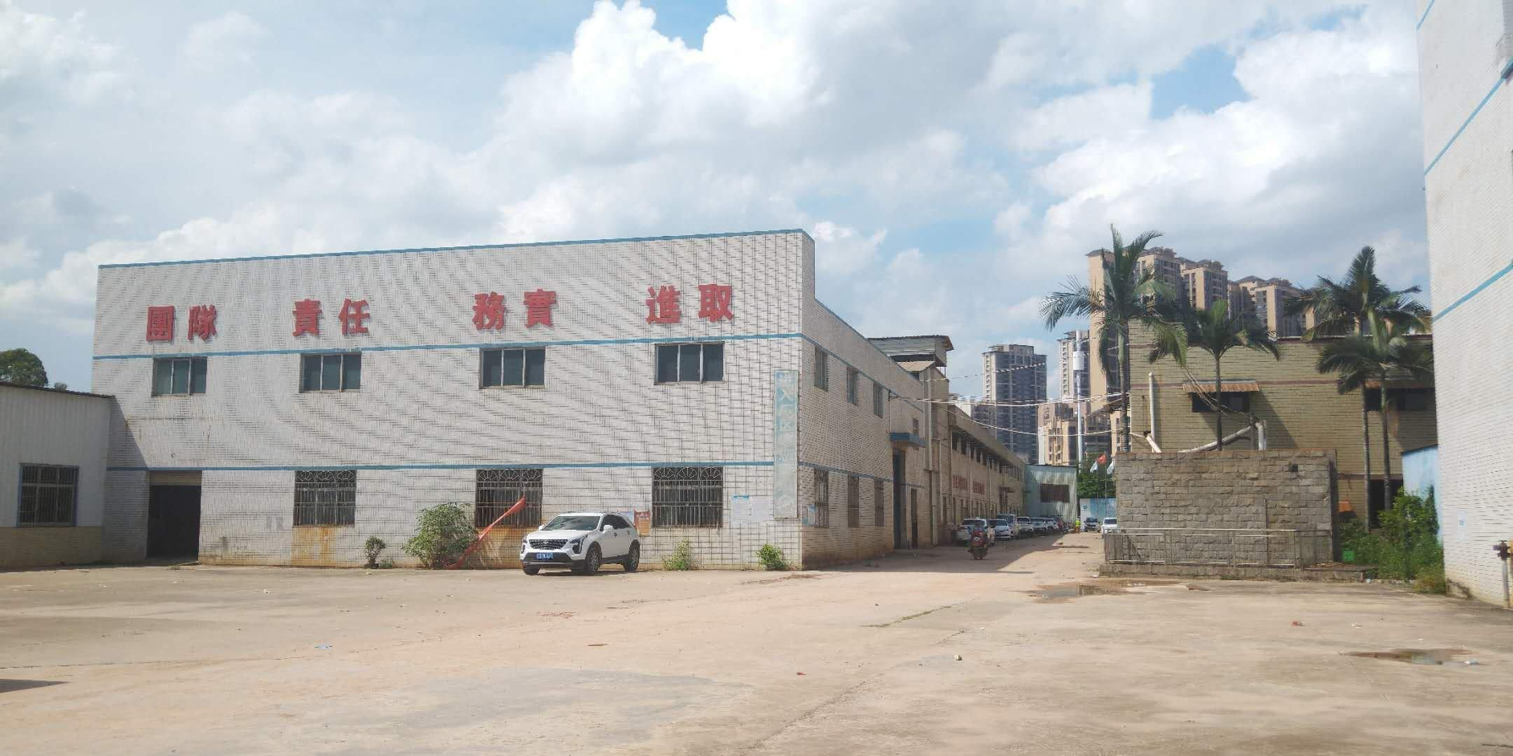 水口镇三环路边上红本单层厂房1300平方招租。