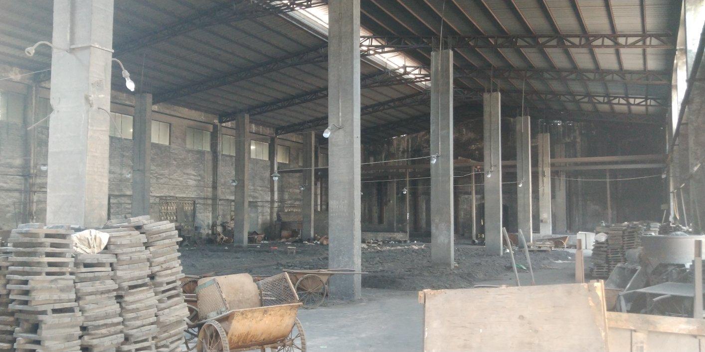 惠州市水口镇一楼新出800平方钢构厂房价格实惠空地大进车方便