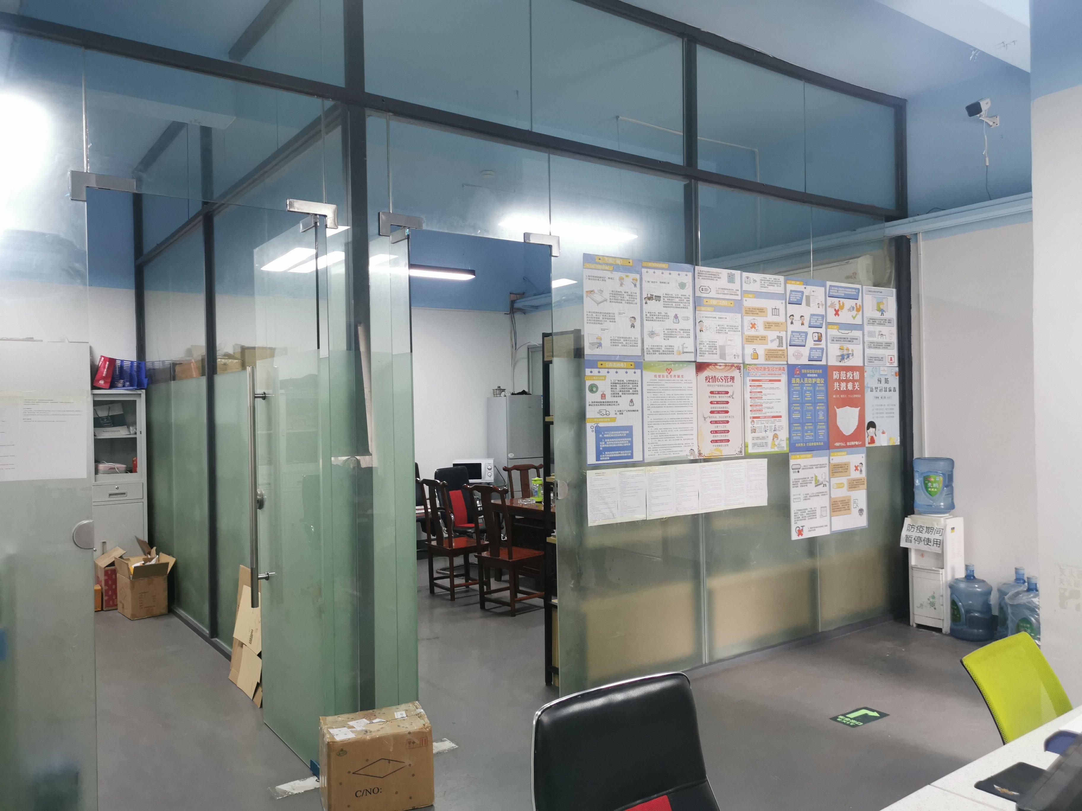 观澜大水坑新出厂房整层带装修1350平