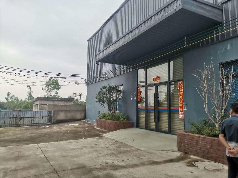 石湾工业园区重工业单一层钢构2300平米出租现成地坪漆