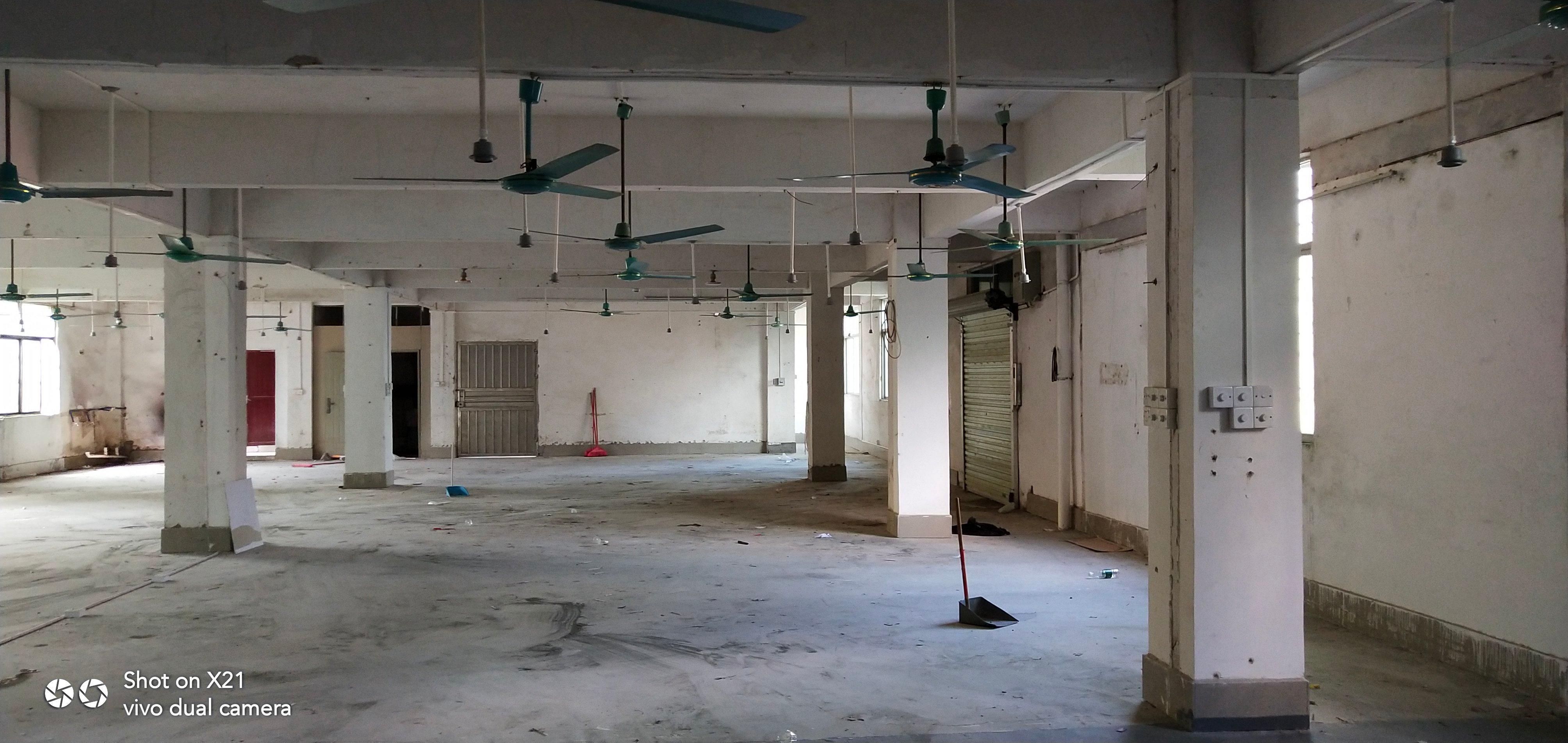 白云区二楼900平方厂房出租,可做仓库,采光好,近白云五线