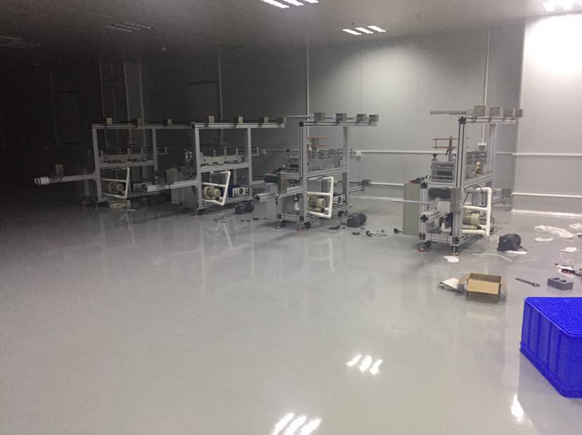 惠州仲恺原房东十万级无尘车间1400平方带设备风淋室