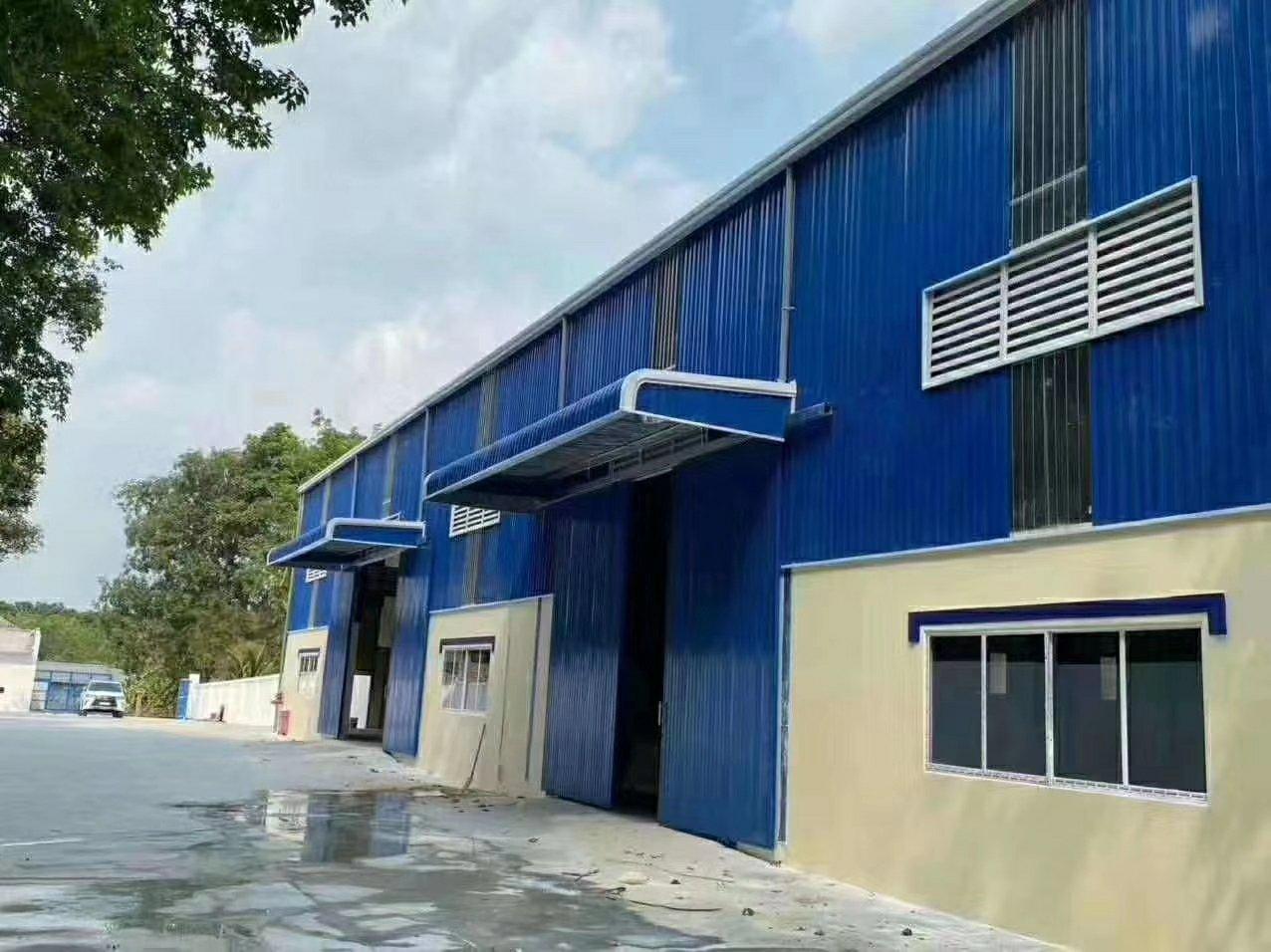 惠东白花镇原房东经典全新钢结构厂房3200平方滴水9米