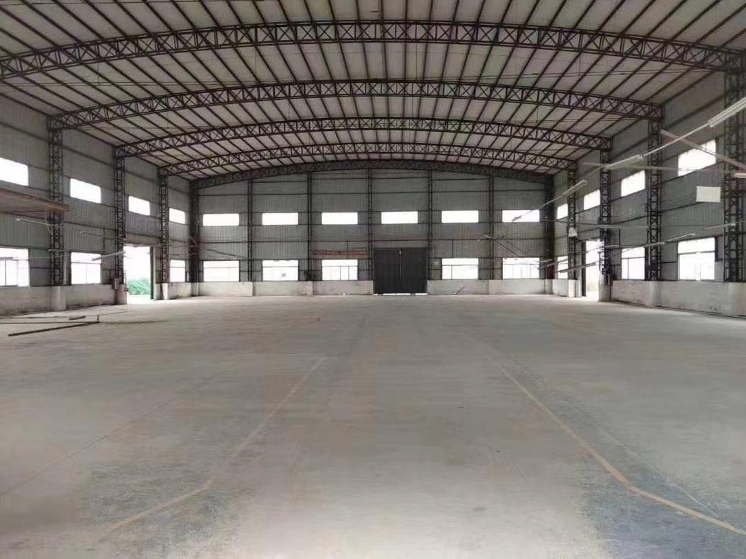 惠城马安镇新出国有钢结构厂房6600平方出售