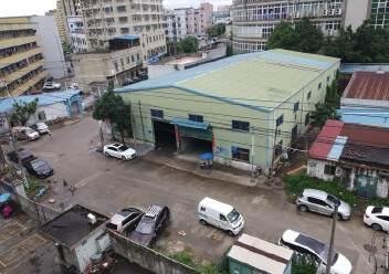龙华新出1楼1000平米钢构厂房仓库,层高8米可装行吊图片1