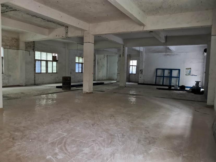 龙岗坪地一楼1500平高4米原房東红本厂房仓库出租精装修