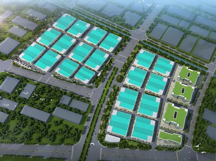 肇庆新出高大上,适合高端制造产业,单一层和高层厂房滴水12米-图2
