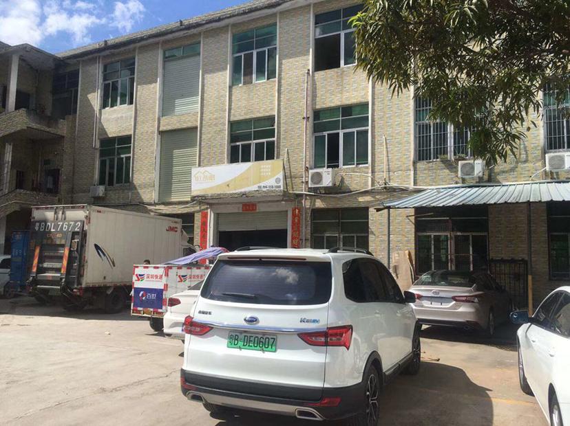 福永会展中心旁新出一楼1500平,空地大适合仓库物流加工