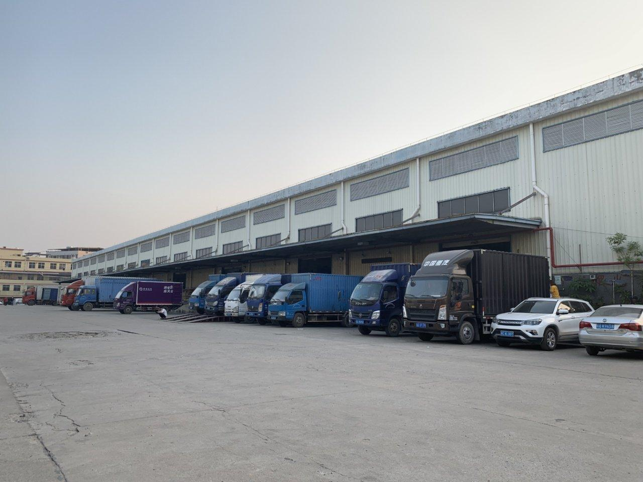 广州天河区珠吉路原房东高台物流仓库面积9000平方可分租