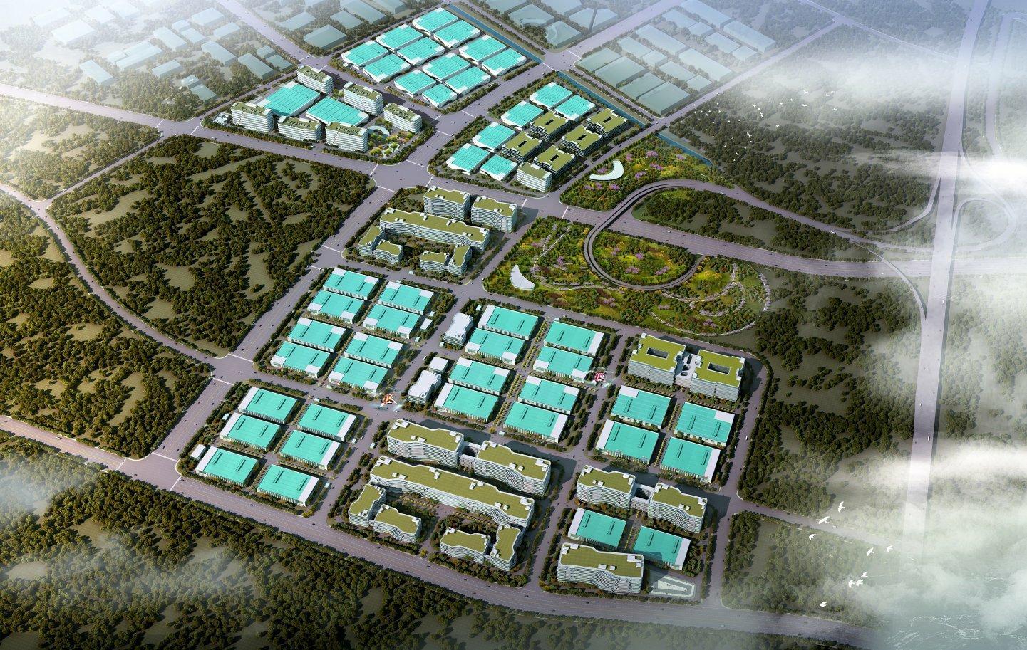 广东肇庆高新区花园式高端制造业厂房1300亩出租-图3