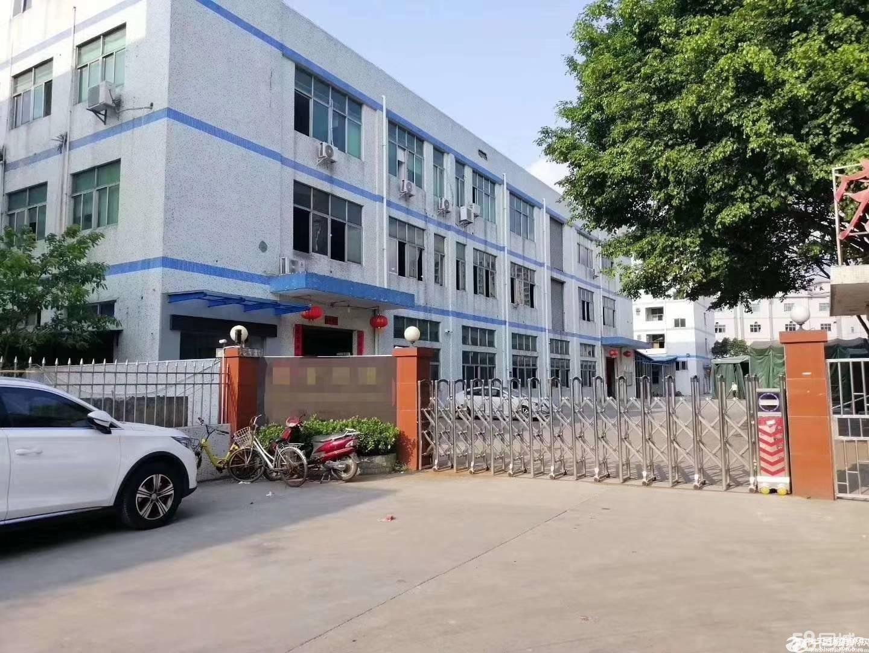 平湖富民工业区原房东二楼1200平米厂房,仓库带豪华装修急租