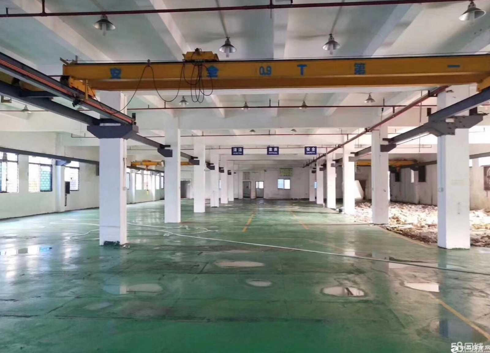 平湖清平高速出口独门独院7500平方米厂房仓库出租