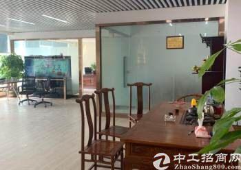 福永地铁口带装修办公室招租带家私230平方无转让费图片5