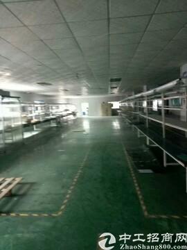 平湖原房东富民工业区二楼900平米厂房,仓库出租可分租