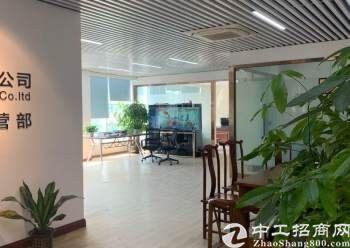福永地铁口带装修办公室招租带家私230平方无转让费图片2