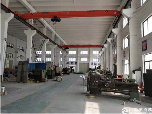 江苏南通国有出让一类工业用地带牛角高度13米厂房出售转让