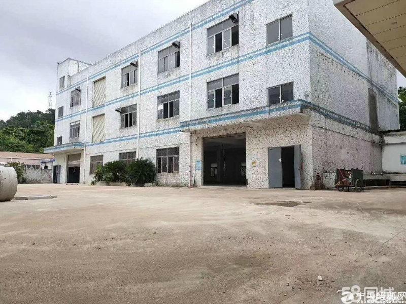 平湖富民一楼厂房780平米出租适合做仓库空地大主干道边