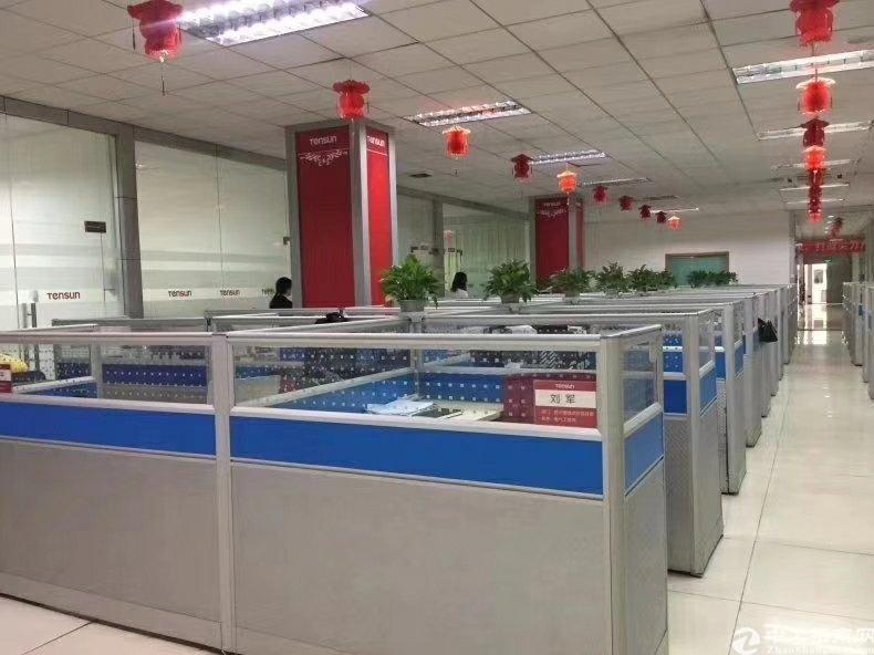 龙华清湖地铁站附近新出400平带精装修厂房出租-图4