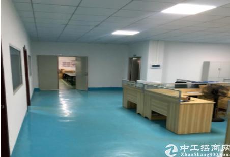 深圳坪山秀新楼上400平米精装修厂房出租,水电齐全-图4