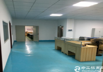 深圳坪山秀新楼上400平米精装修厂房出租,水电齐全图片4