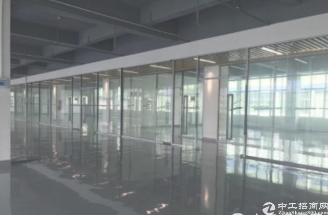 坂田杨美地铁口电商园精装修办公厂房大小面积180平起租