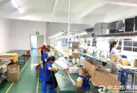 深圳坪山秀新楼上400平米精装修厂房出租,水电齐全-图3