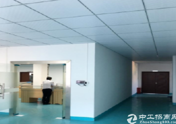 深圳坪山秀新楼上400平米精装修厂房出租,水电齐全图片6