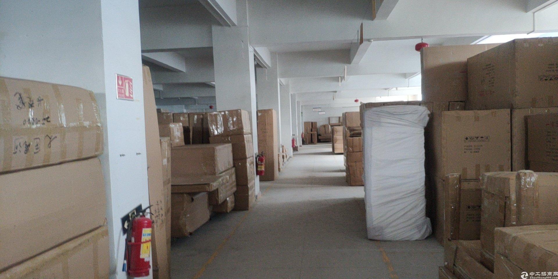 龙岗坪地楼上标准厂房900㎡出租,带简装修