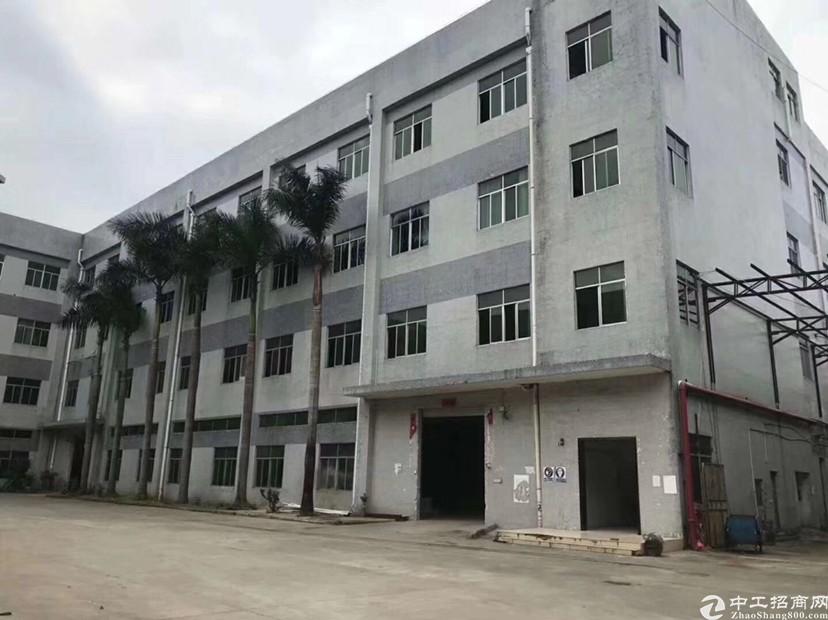 石岩红本厂房占地2700平建筑4600平急售