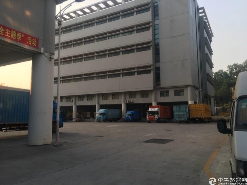 龙华梅林关口高速路口新出原房东物流仓库30000厂房出租