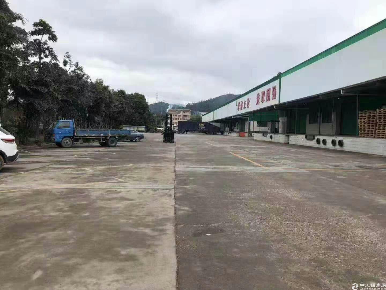 高速路口新出物流仓库47000平,丙二类消防,可分租