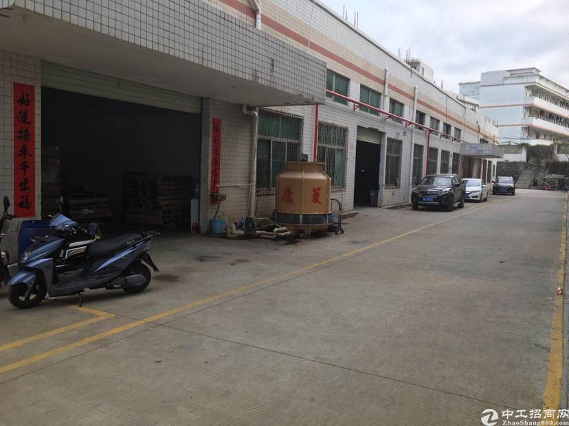 坑梓工业区新出一楼600平米厂房出租,现成注塑环评证转让