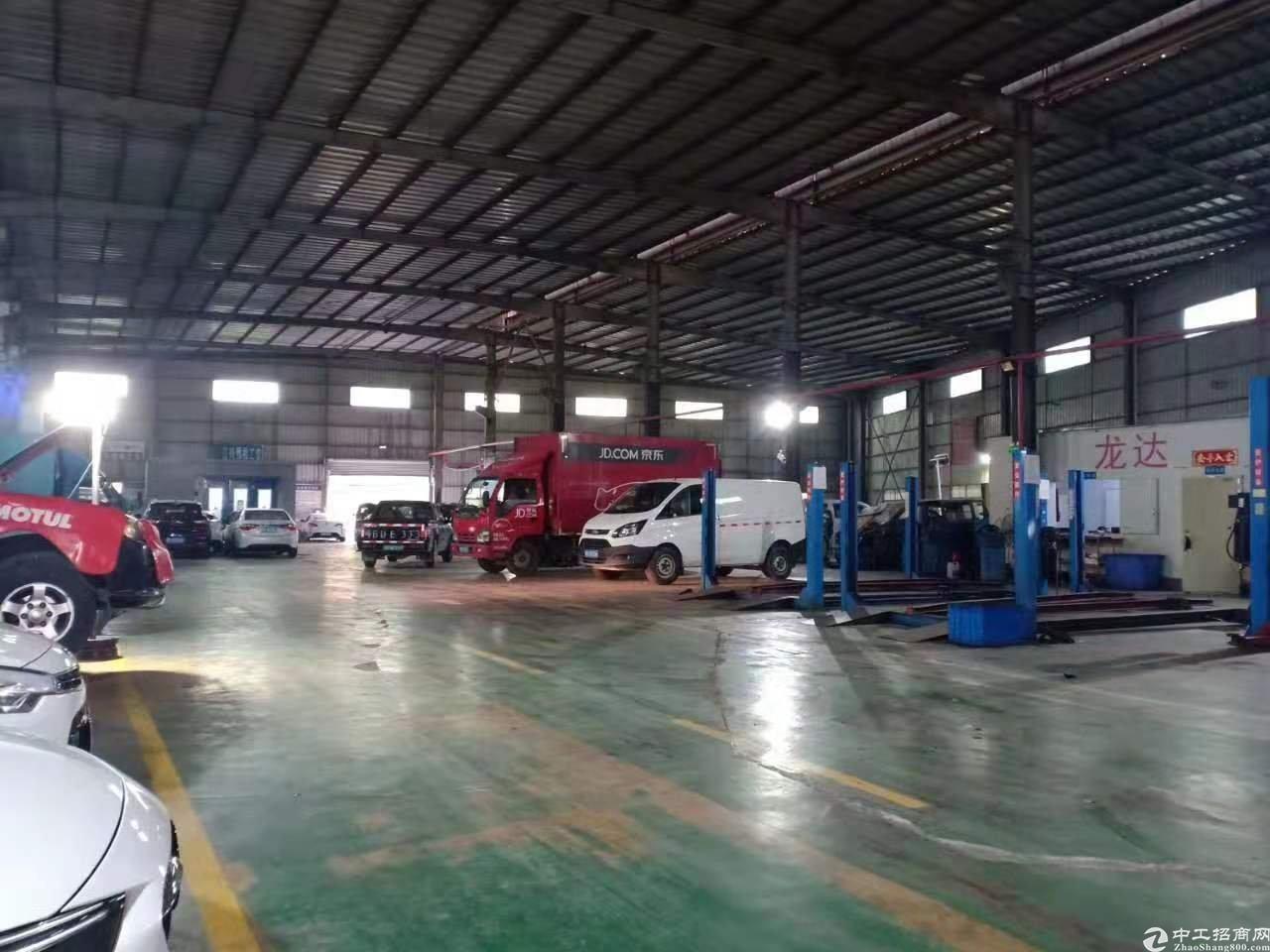 稀缺资源龙华大浪商业中心新出3600平钢构带牛角层高12米