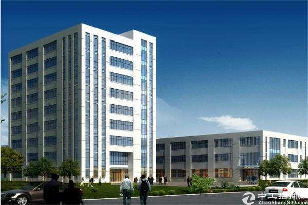 宝安区沙井红本研发楼可分割出售,双地铁,独栋甲级超级高