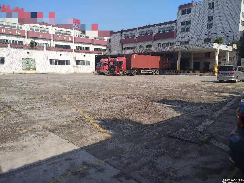 清溪丛莞深高速附近厂房二楼仓库出租层高6米带卸货平台带喷淋