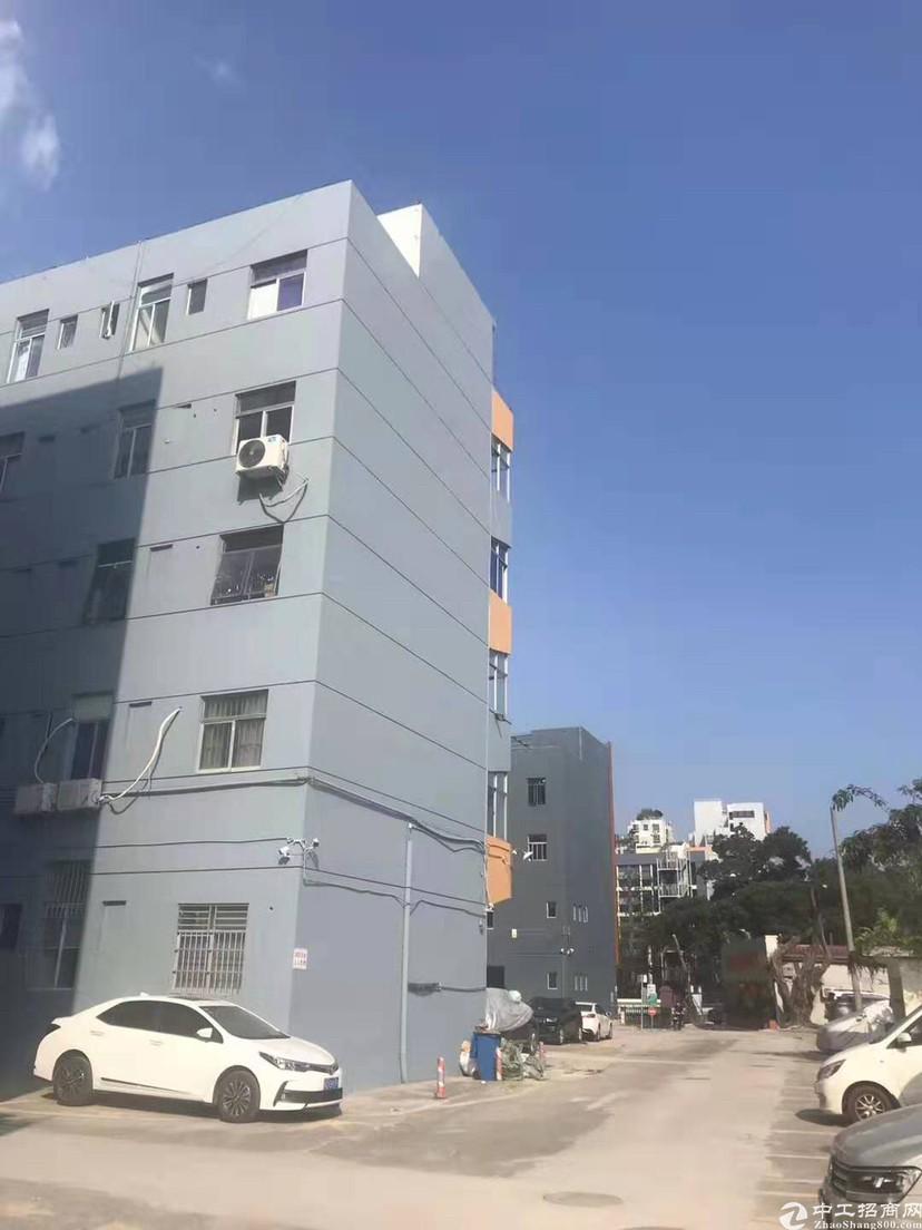 布吉南岭楼上新出精品厂房2000平,原房东无公摊建筑面积出租