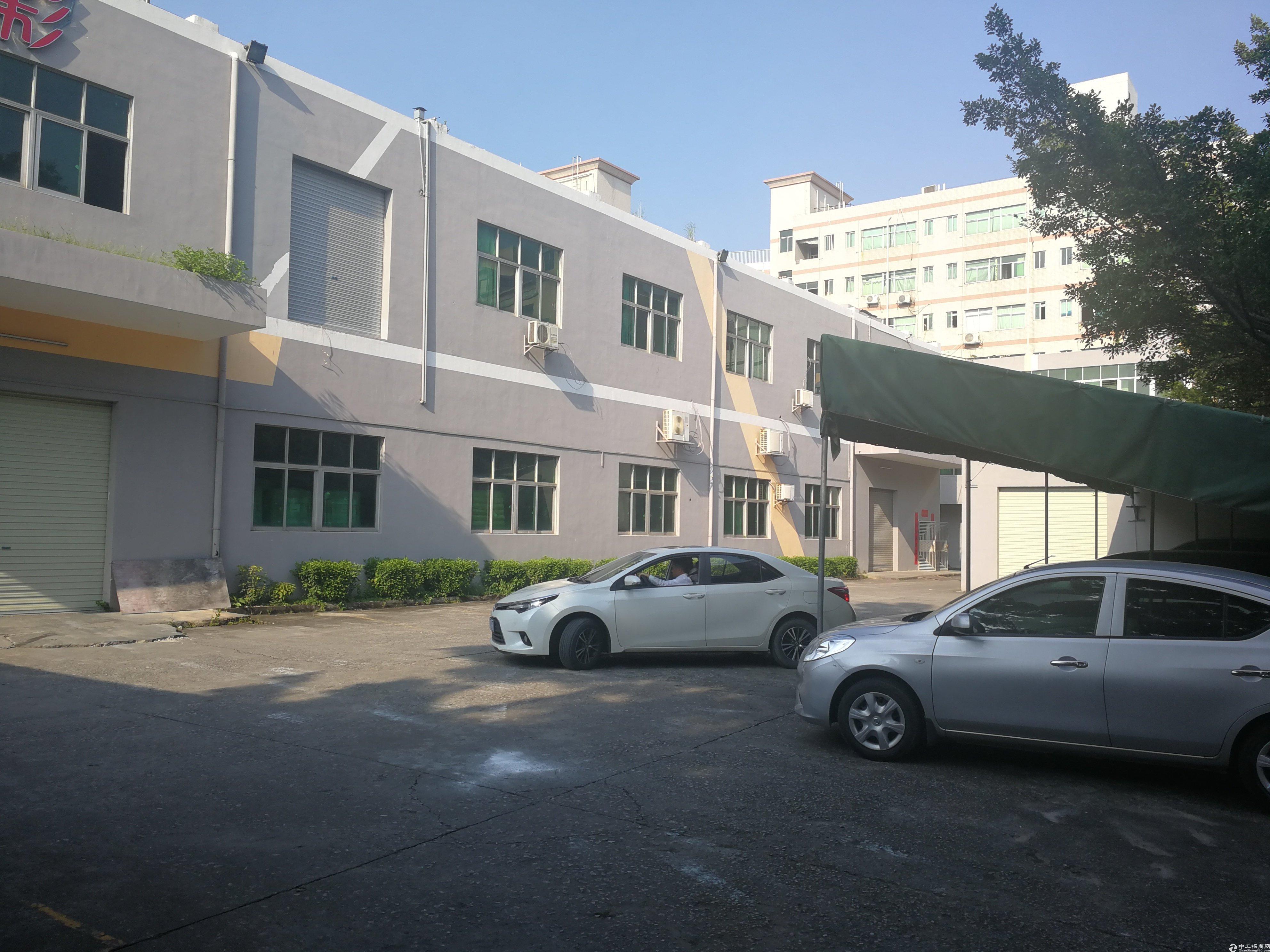 深圳横岗高速口4000平国有双证标准厂房出售!-图2