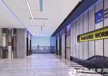 深圳坂田华为附近带装修甲级写字楼招租,88平起分图片5