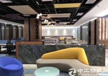 深圳坂田华为附近带装修甲级写字楼招租,88平起分图片6