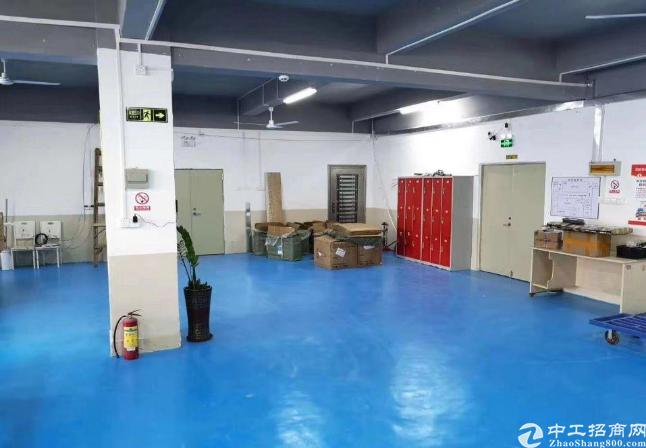 龙岗爱联原房东工业园厂房招租1100平方出租